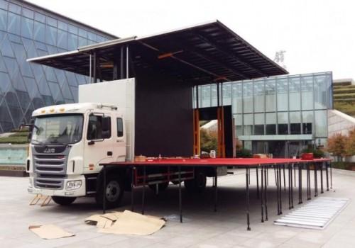 江淮7.8米舞台车
