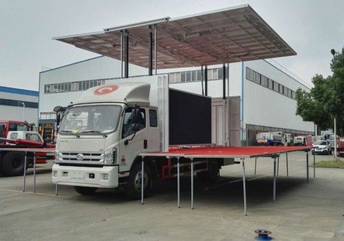6米舞台车