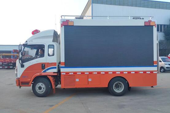 消防宣传车图片