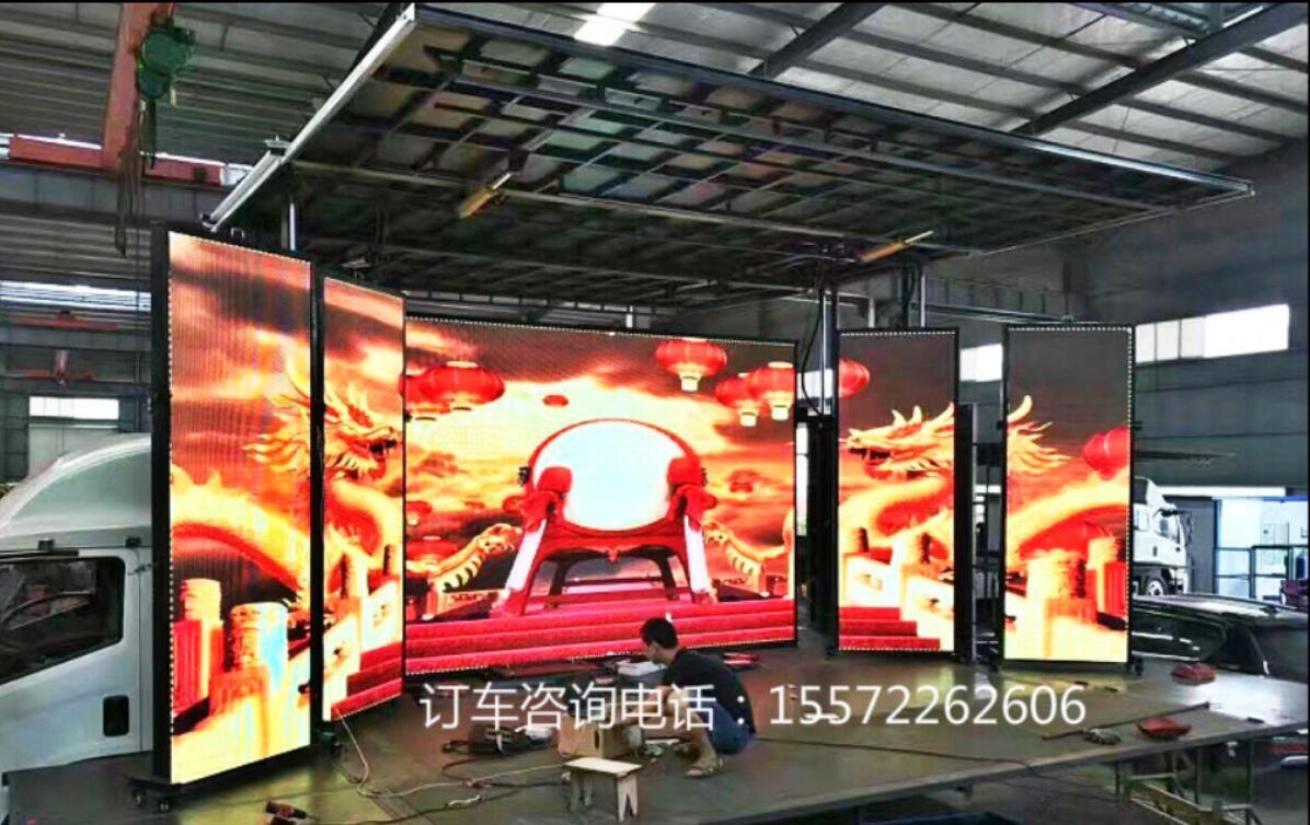 重汽豪沃流动舞台车|舞台车图片